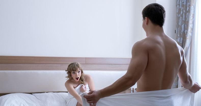 motivul scăderii erecției în timpul actului sexual