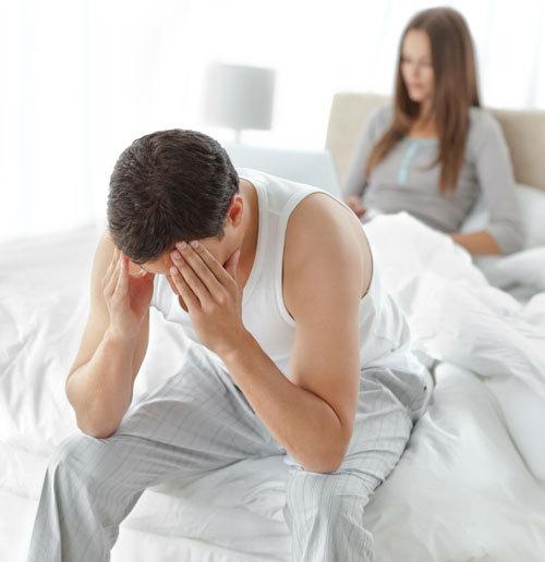 entuziasm și pierderea erecției)