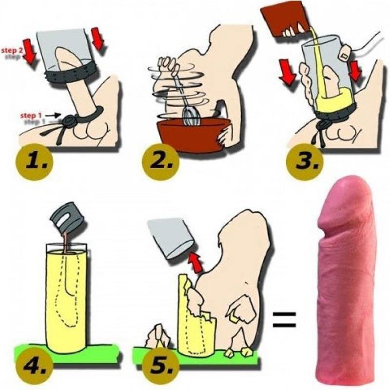 Cloneboy - Cum să faci un vibrator din silicon acasă? Clonează-ți penisul!
