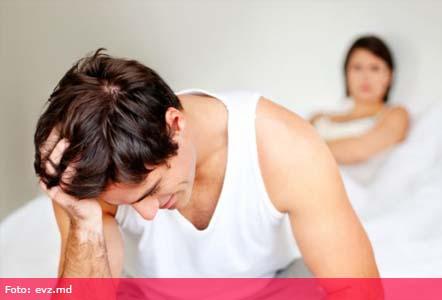 lipsa erecției din cauza prostatitei)