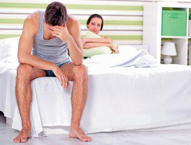 motivul scăderii erecției în timpul actului sexual)