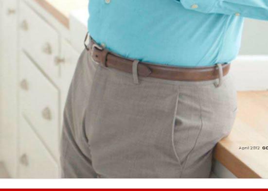 erecție din pantaloni