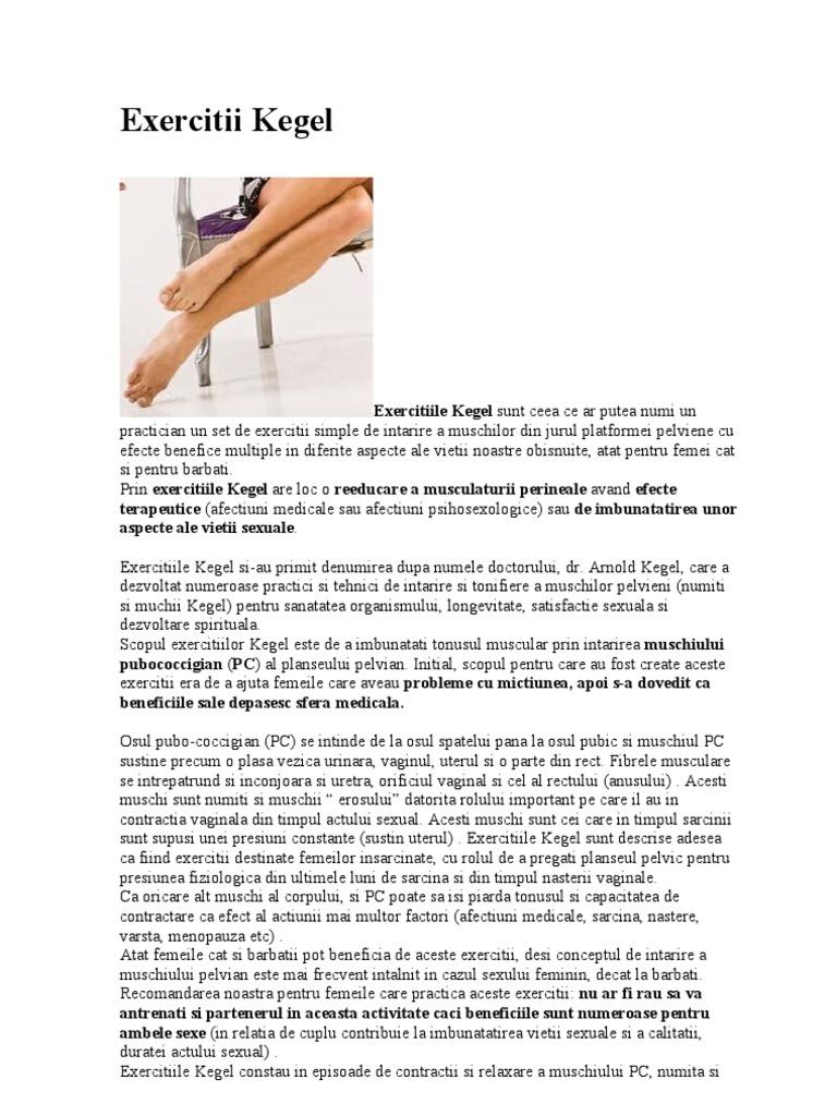exerciții pentru controlul erecției