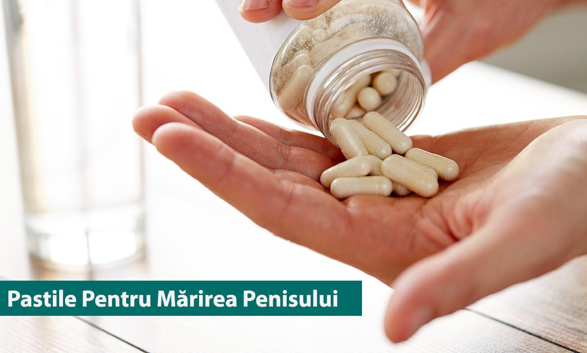 Pastile pentru marirea penisului Penilarge, potenta, 60 tablete