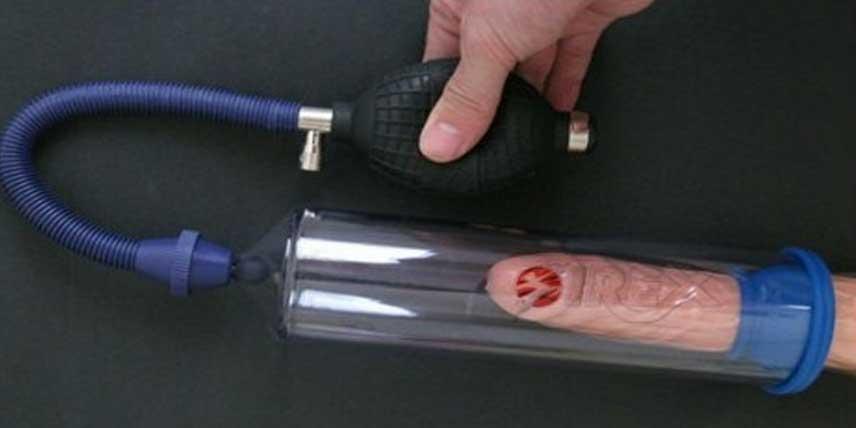 Pompe pentru penis vid