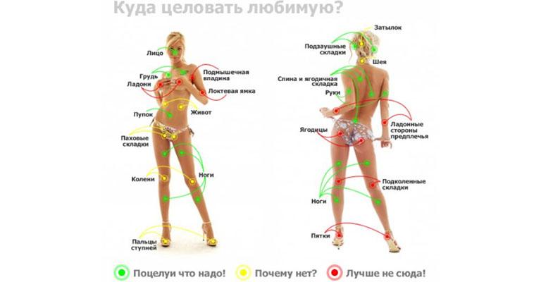 puncte pe corpul unei erecții om