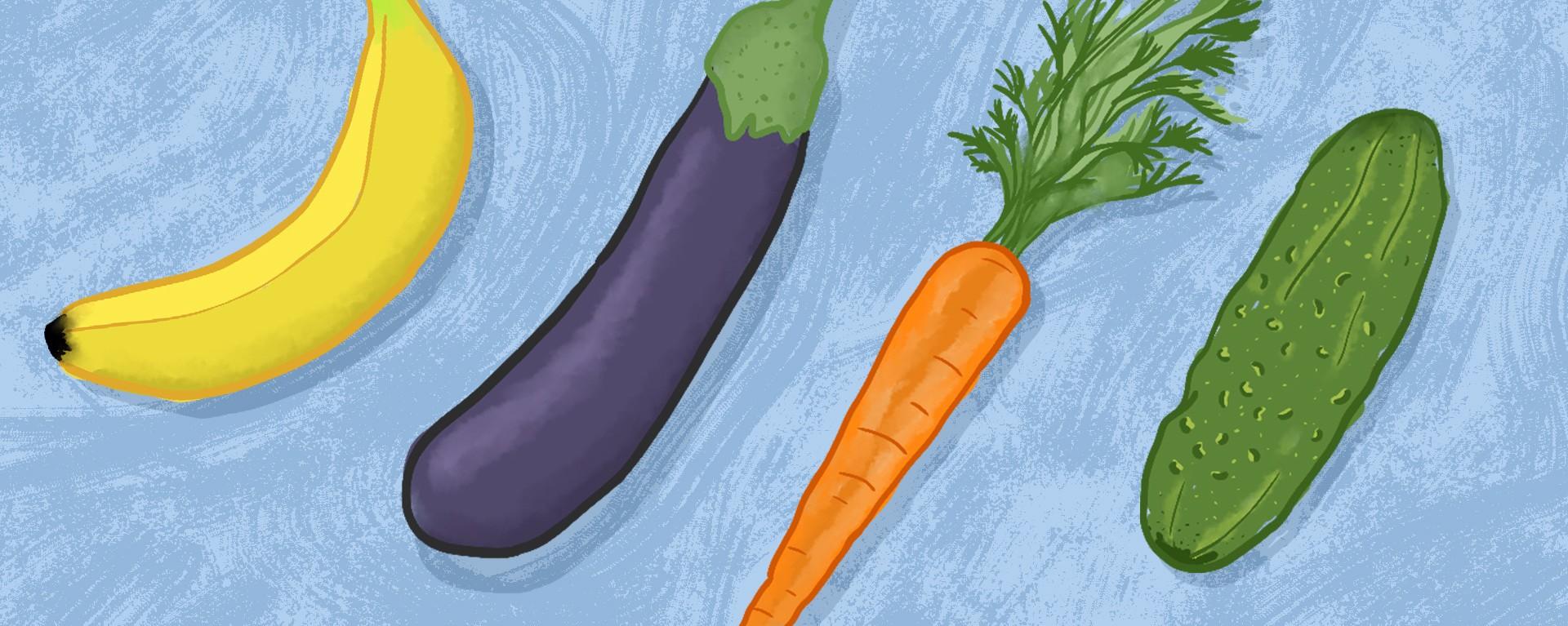 Cele mai ciudate fructe și legume. Zici că nici nu sunt reale | FOTO