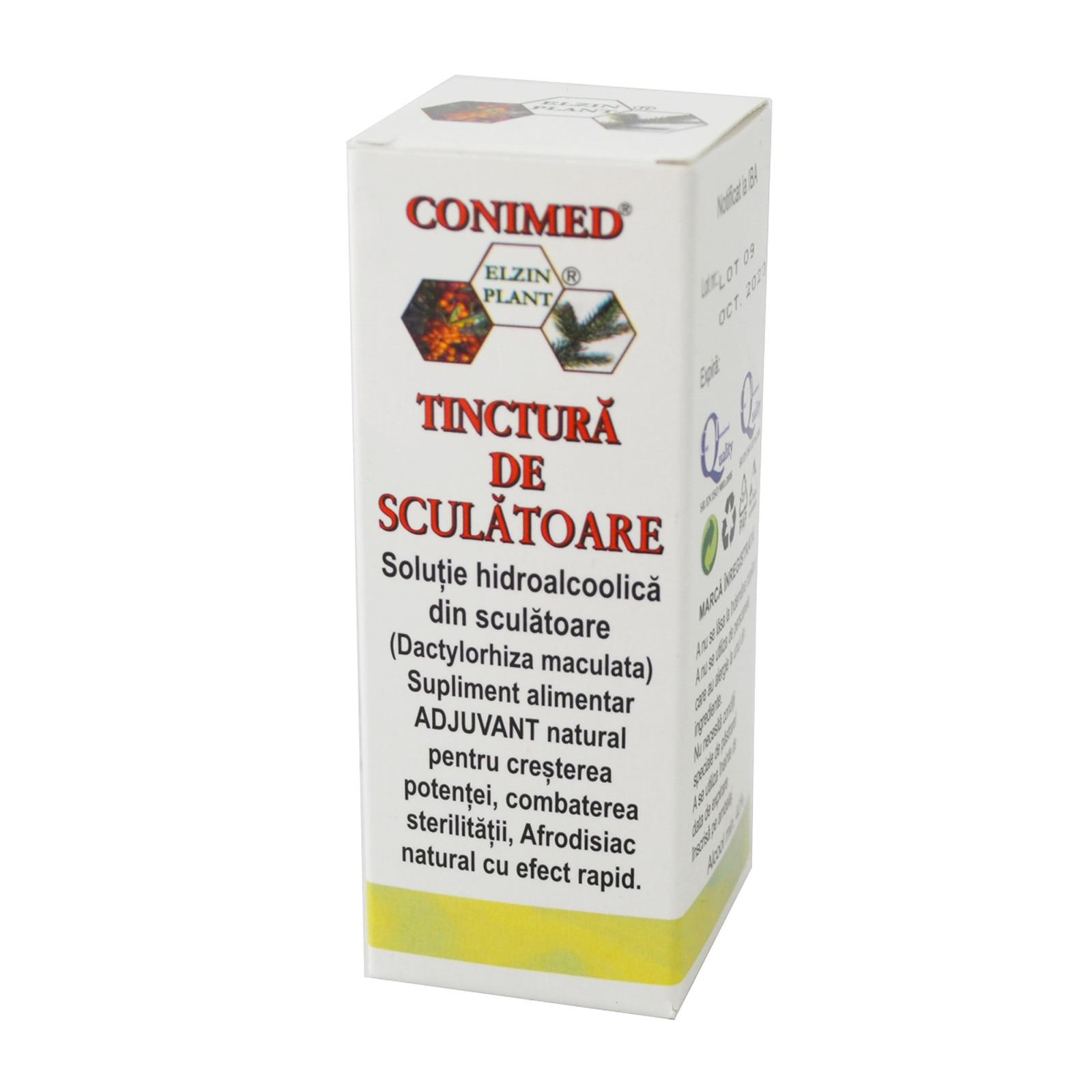 Tinctura Sculatoare - Elzinplant, 50 ml (Pentru EL) - alaskanmalamutes.ro