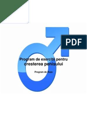 exercițiu de creștere a penisului