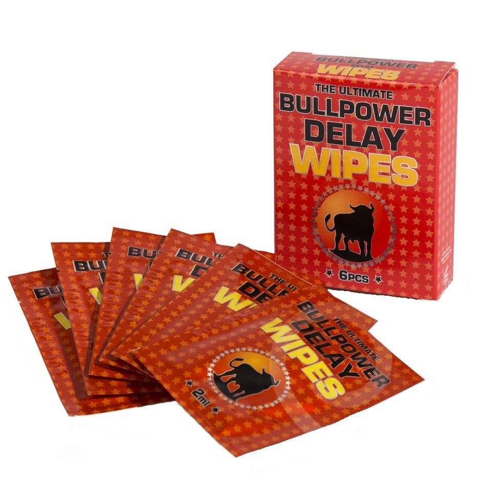 BullPower Delay - Servețele pentru ejaculare precoce, 6pcs • Just Love