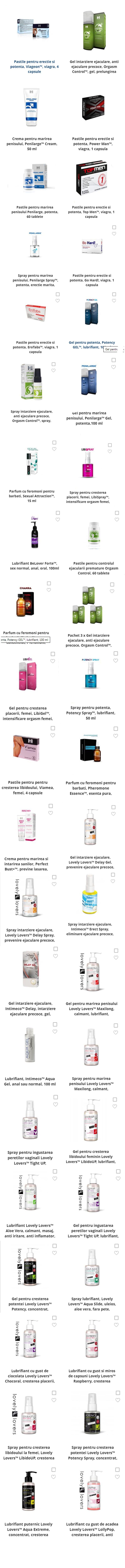 produse pentru îngrijirea penisului